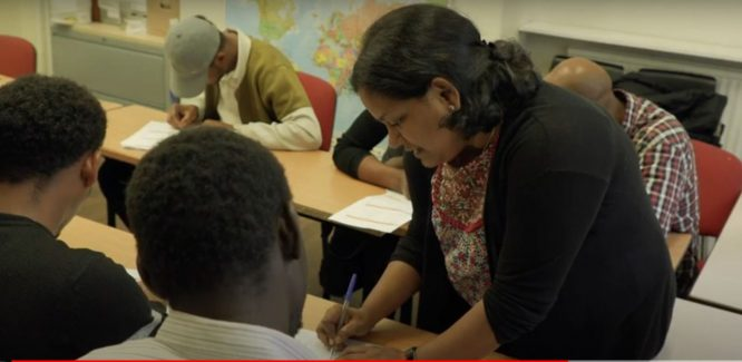 Caritas Refugee Education